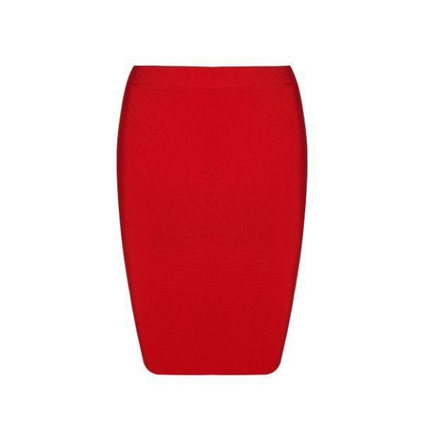 Santana Red Skirt 10