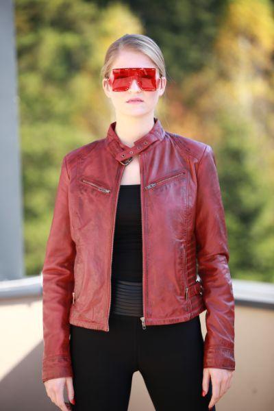 Kiara Leather Jacket 9